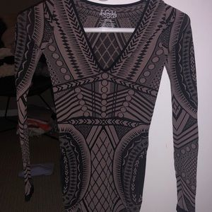 Free People Not An Illusion Bodycon
